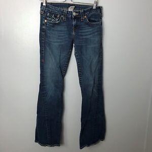 Jeans Flare Medium Dojo Sz28 7 Wassen For All L 5 27 Mankind Denim Dames trCxdsBhQo