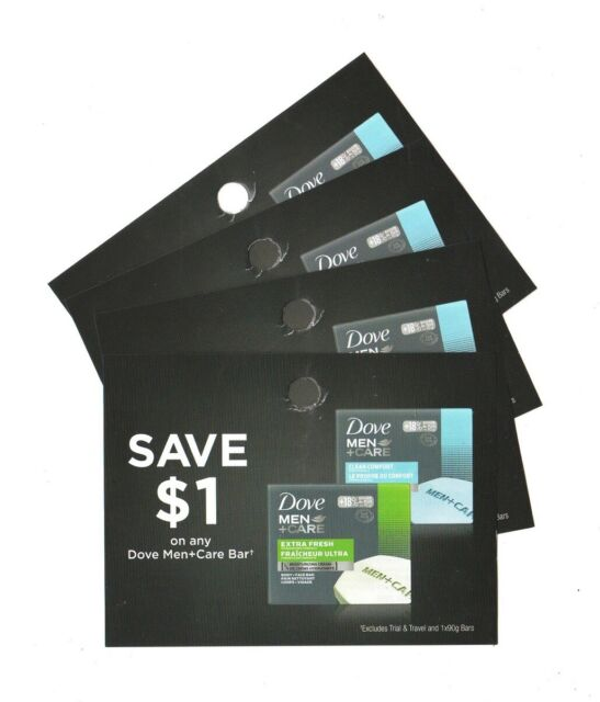 12 x Save $1.00 on 🔥Dove Men + Care Bar Soap 🔥Coups (Canada)