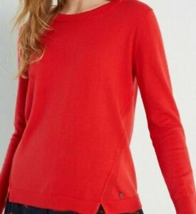 BN-WHITE-STUFF-RED-MEADOW-COTTON-WOOL-MIX-JUMPER-SWEATER-SIZE-6-16-ONLY-16-99
