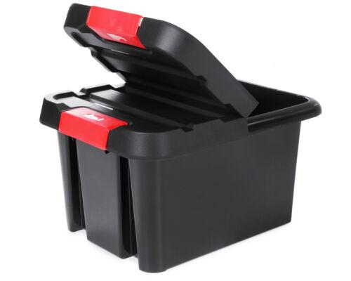und Stapelbox Malle Ordnungskiste Aufbewahrungsbox 85 Liter Ondis24 Dreh