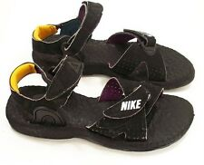 New Nike  Baby Deschutz Water Sandals Black/White Little Boys Size 7