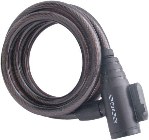 Noir Spiralkabelschloß Edge Wired 80-ø8*1200