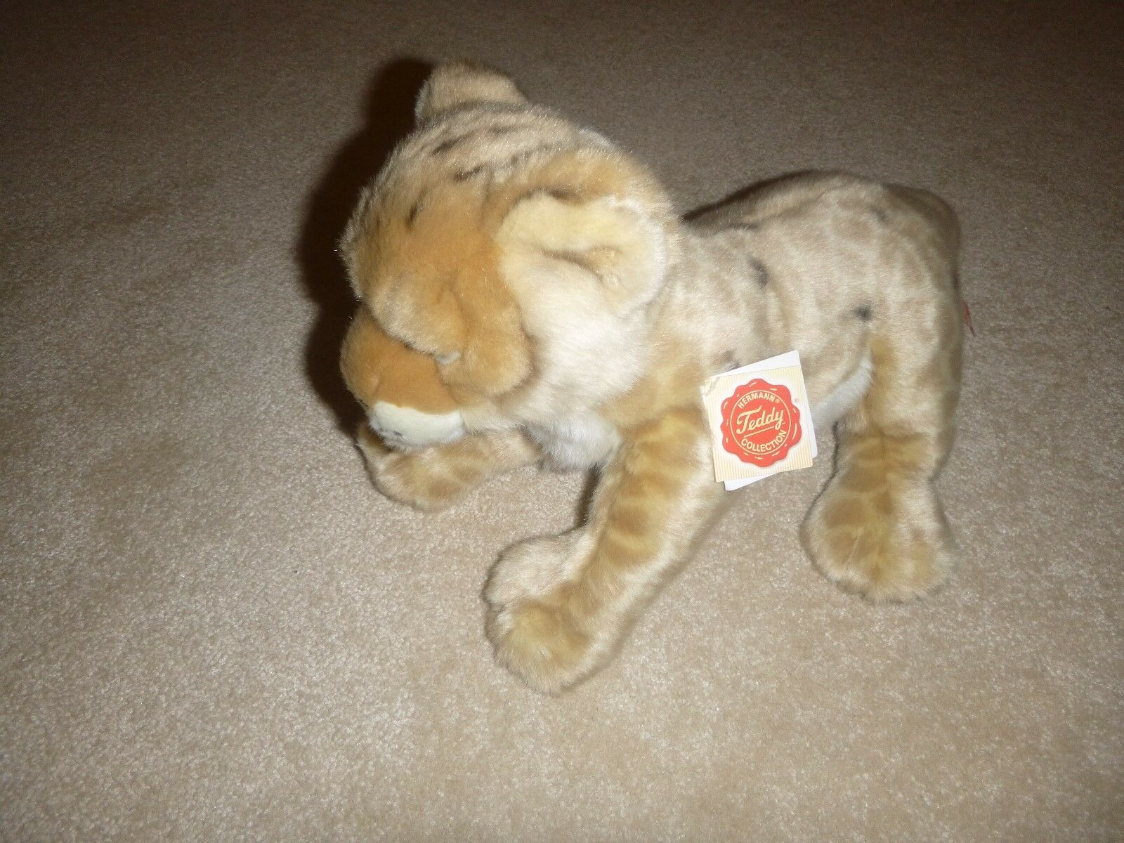 BNWT Gorgeous Lioness Soft Toy Stuffed Animal Hermann Teddy Collection