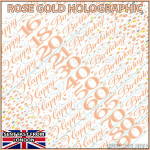 Happy-Birthday-Banner-Rose-Gold-Age-16-18-21-20-30-40-50-60-65-70-80-90-Party
