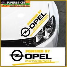 Opel-Logo Powered by Opel Motorsport  ca.30 cm Aufkleber Sticker Tuning