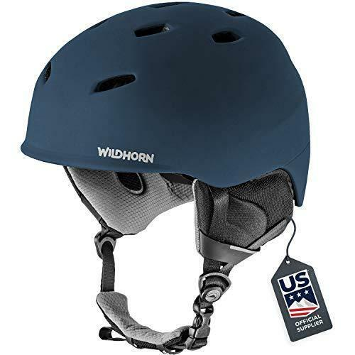 Wildhorn Drift Snowboard & Ski Helmet - Midnight Blue - Size Small