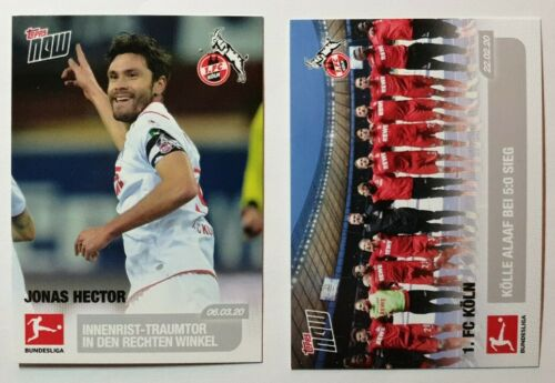 FC Cologne Hector 139-2 Cards of 1 Topps Now Championnat 2019-20 cards 130