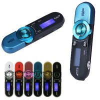 6Color USB LCD Screen MP3-Player 16GB Support Flash TF Player MP3 Music FM-Radio
