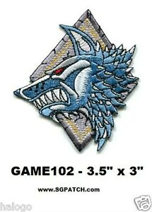 Warhammer 40k Space Wolves Patch Game102 Ebay