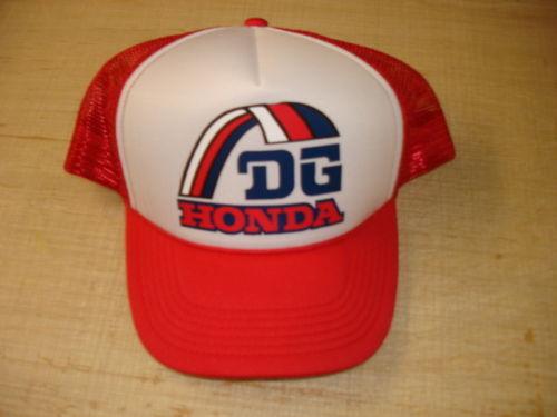 AHRMA Vintage Motocross Retro Team DG Honda Mesh Hat