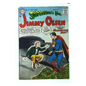 Superman's Pal Jimmy Olsen (1954 series) #17 in VG condition. DC comics [*oh]