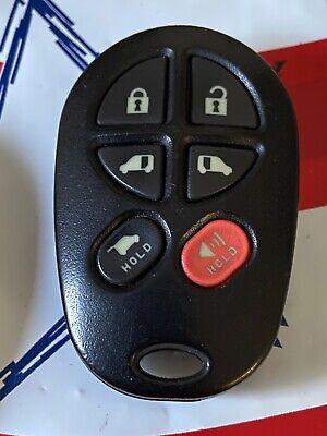Fits Toyota GQ43VT20T OEM 6 Button Key Fob