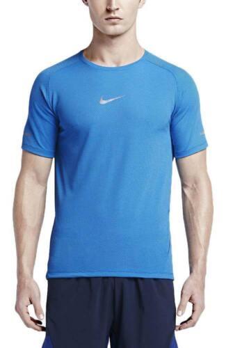 Neu Nike Herren Aeroreact Kurzärmelig Laufshirt Fit / Dri