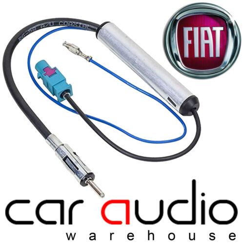 PC5-137 FIAT 500 Car Stereo Radio Amplified Booster Fakra Aerial Antenna Lead