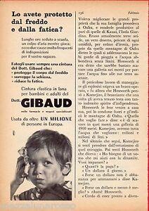 Pubblicita-Advertising-Dr-GIBAUD-1960