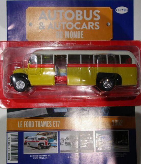 IXO 1/43 - Autobus et autocars du monde 19 - Ford Thames ETZ malte
