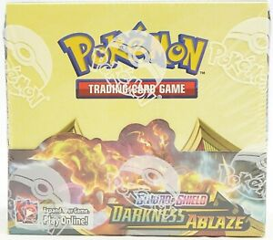 Darkness Ablaze Sword & Shield Booster Box Pokemon TCG