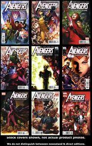 Avengers-The-Children-s-Crusade-1-2-3-4-5-6-7-8-9-Set-Run-Lot-1-9-VF-NM