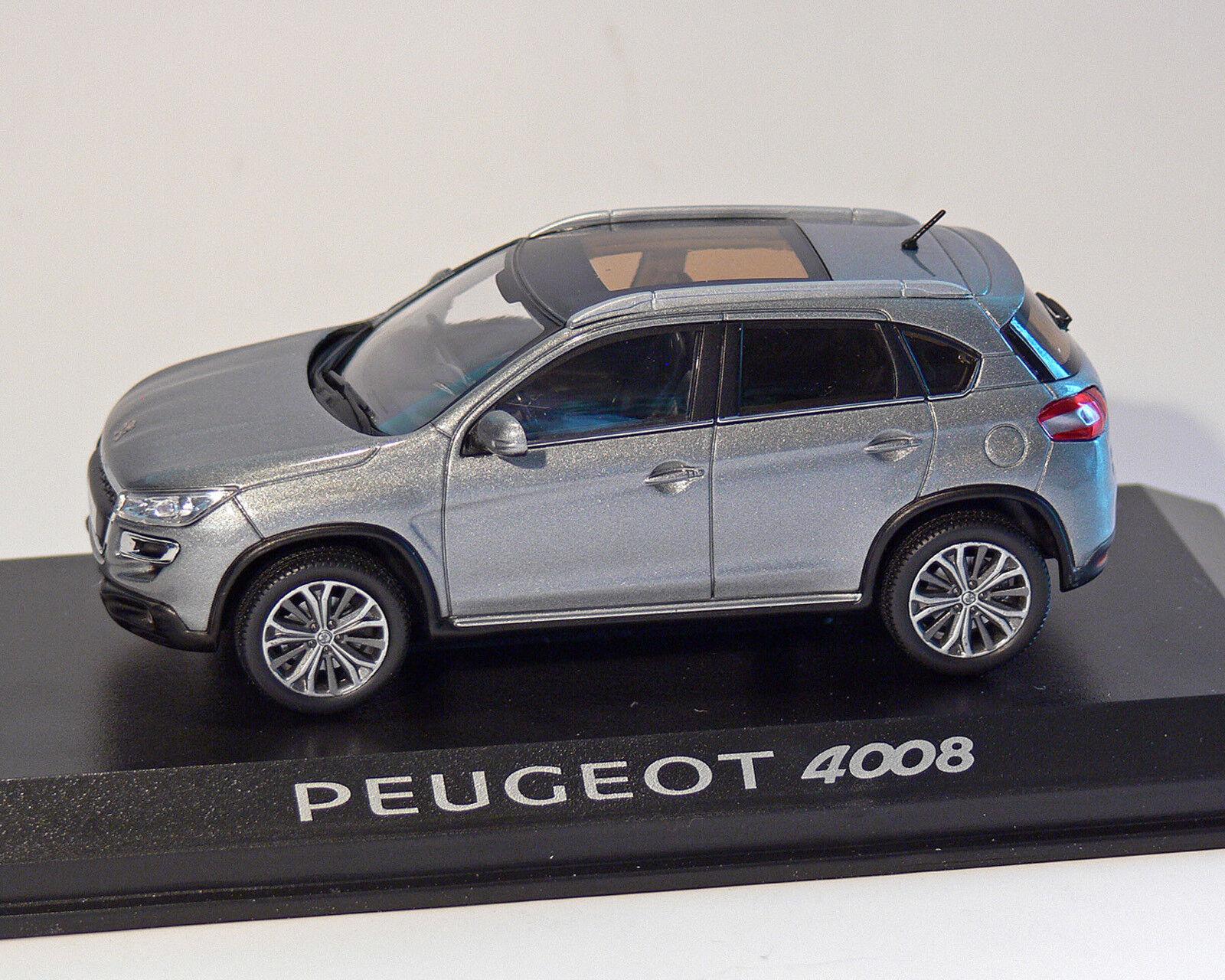 PEUGEOT 4008 grey-met. 1 43, Norev