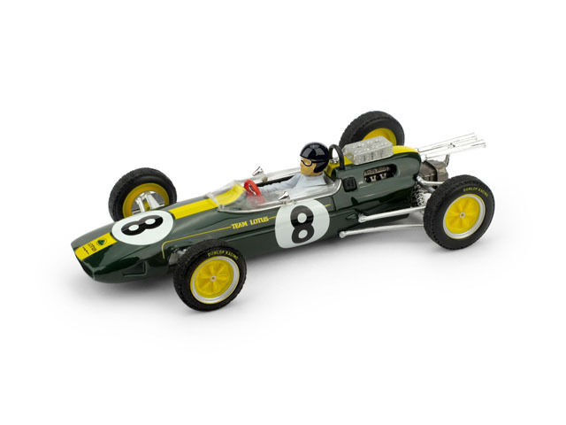 Lotus 25 J. Clark 1963  8 Winner  GP World Champion  Driver Figure 1 43