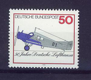 ALEMANIA-RFA-WEST-GERMANY-1976-MNH-SC-1207-Lufthansa-Junkers-F13-1926