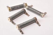 4x Vintage Draht-Widerstand f. Röhrenverstärker, 600 Ohm, 4 W, unmagnetisch, NOS