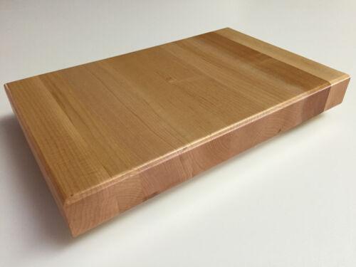 "16/"" x 12/"" x 1.5/"" Maple Wood Butcher Block Cutting Board"