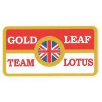 Sticker Lotus Gold Leaf Team