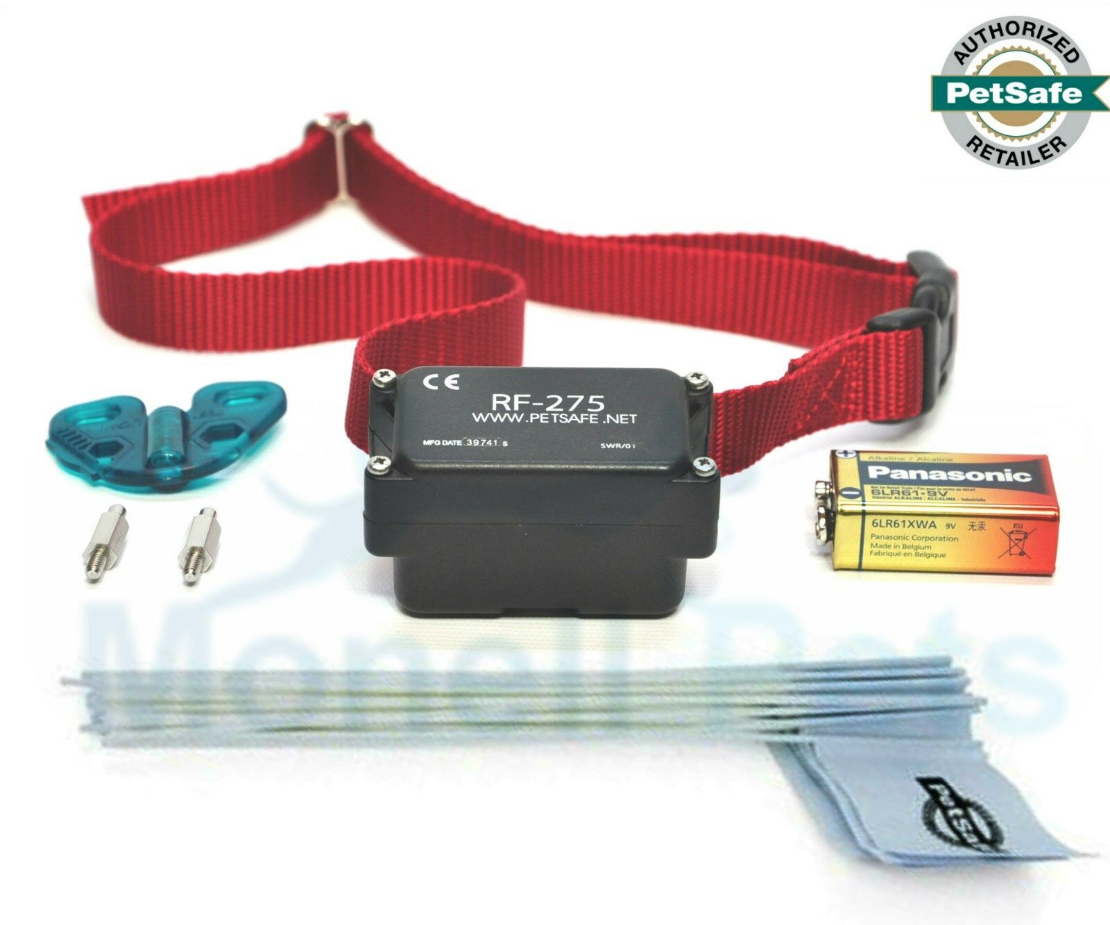 Petsafe Stubborn Dog Fence Collar Receiver PRF-275-19 with 50 Training Flags