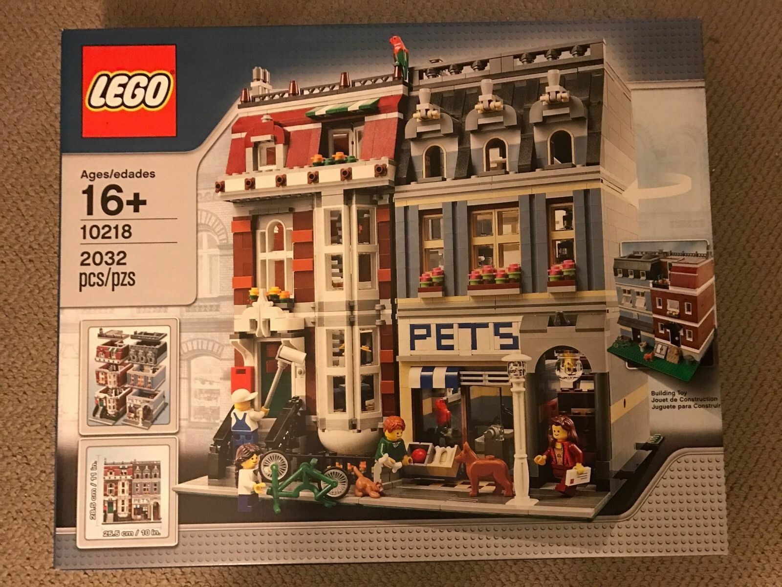 RETIRED Lego 10218 Pet Shop Brand New Factory Sealed Box