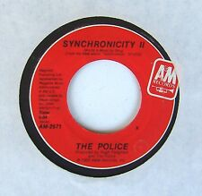 """The Police - Sting - Synchronicity II / Once Upon Daydream 7"""" 45 A&M Record"""