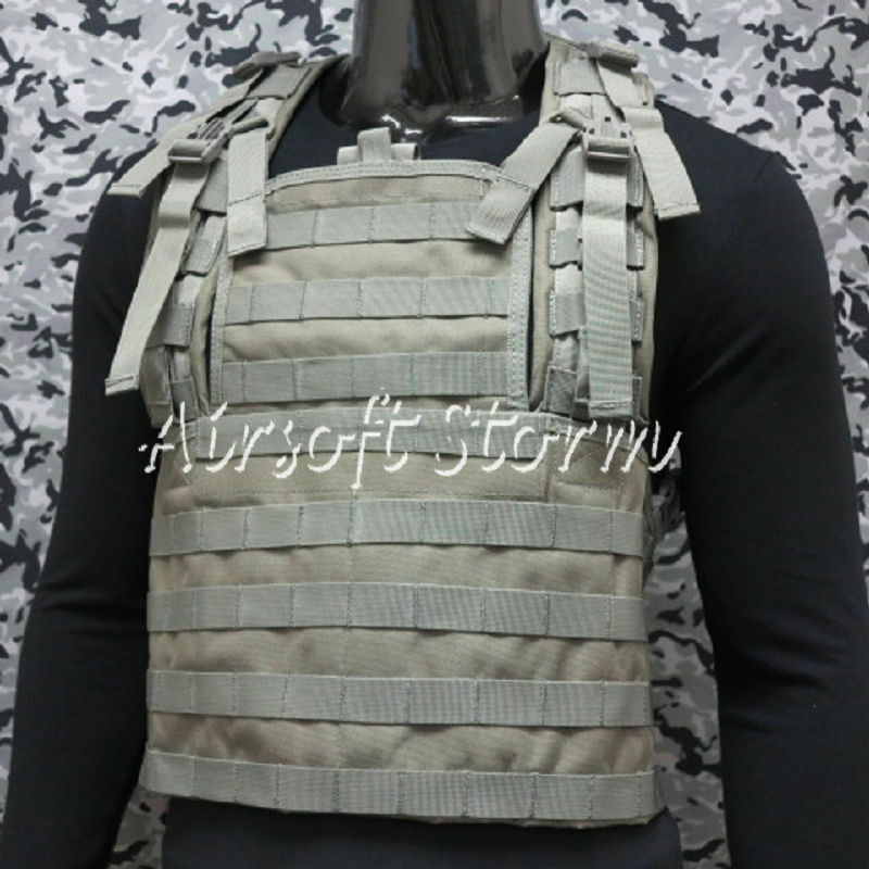 Airsoft SWAT Tactical Gear Molle Combat RRV Platform Vest ACU  Foliage Green  simple and generous design
