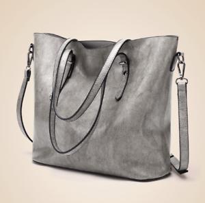 Korean-Leather-Shoulder-Tote-Bag-Sling-Bag-Light-Gray