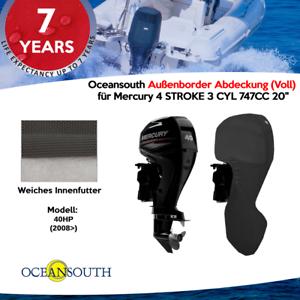"""Voll für Mercury 4 STROKE 3 CYL 747CC 20/"""" Oceansouth Außenborder Abdeckung"""