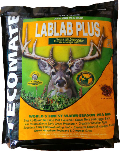 "Tecomate LabLab Plus 50 Lb Bag /"" Excellent Deer Food Plot /"""