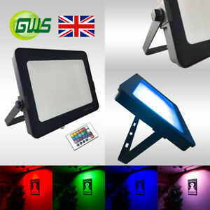 LED-Floodlights-RGB-Colour-Changing-Novelty-Outdoor-Garden-Lights-With-IR-Remote
