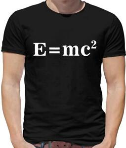 e3c87787 E=Mc2 Mens T-Shirt - Albert - Science - Formula - Einstein - Physics ...