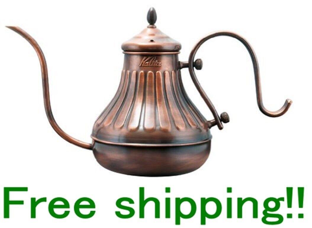 KALITA main à café 900 pot en cuivre NEUF EMS livraison gratuite