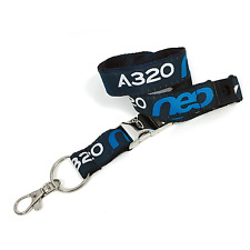 Airbus A320 NEO Woven Lanyard