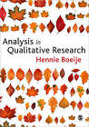 Analysis in Qualitative Research by Hennie Boeije (Paperback, 2009)