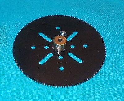 No96 noire meccano roue de chaine 18 dents