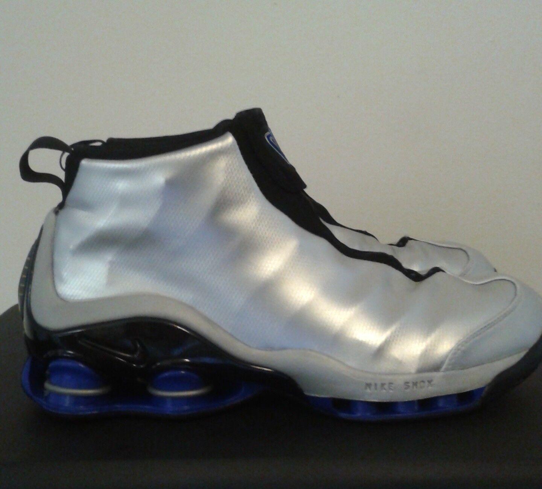 Nike Shox VC 302277-001 Sz.10 Vince Carter DS, Sliver, Black, Royal OG, DS, Carter RARE 36f342