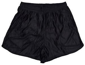 Black-Nylon-Running-Track-Shorts-by-Don-Alleson-Men-039-s-XL