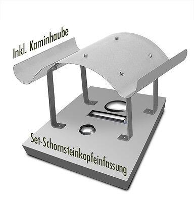 Fürs Dach Set Schornsteinabdeckung Mit Kaminhaube Schornsteinkopfeinfassung Edelstahl Ein Unbestimmt Neues Erscheinungsbild GewäHrleisten Heimwerker