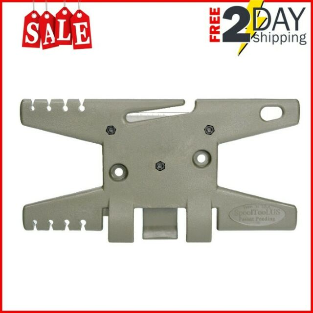 Holds Up To 100/' of Parachute Cord ParaCord Spool Tool OD Green