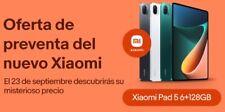 Xiaomi Tablet 5 Mi Pad 11'' pantalla LCD 2.5K, 6gb RAM, 128gb, cámara dual, 87