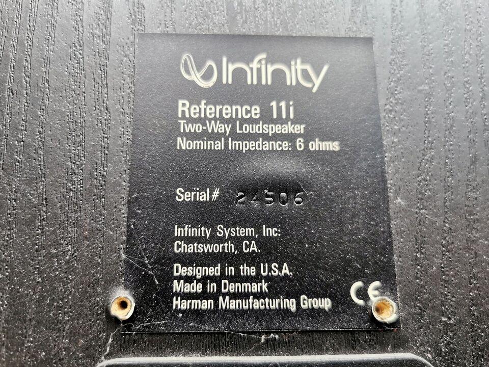 Højttaler, Infinity, infinity reference 11i
