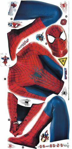 Marvel Superheroes Avengers Spider man Web Slinging Giant Wall Decal Sticker
