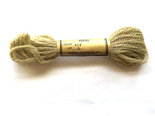 Needlepoint Yarn Paternayan Persian Wool #454 Lot 6 7.4 M Skein 3 Ply