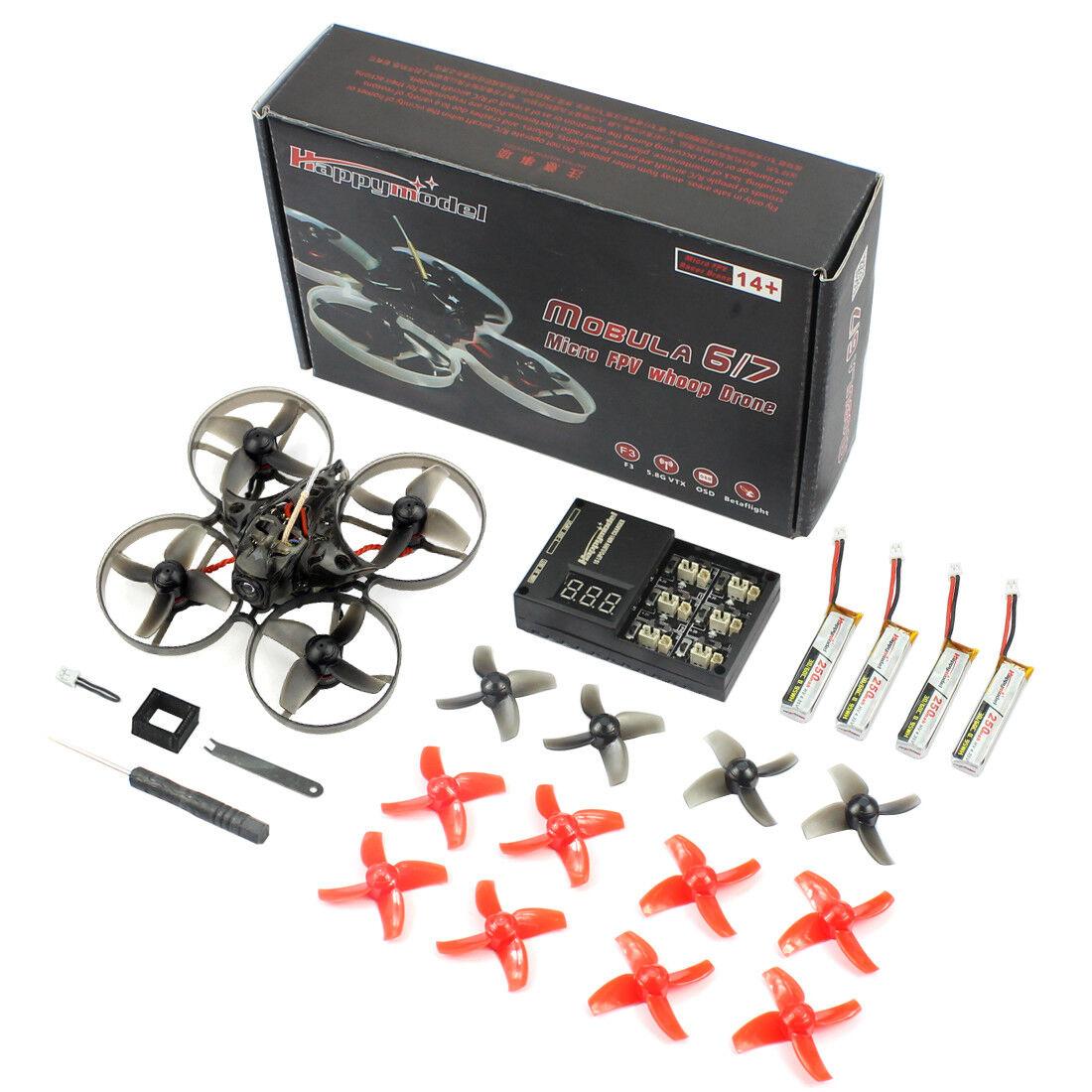 Happymodellolo Mobula7 FPV Racing  Drone Quad Crazybee F3 Pro 75mm BNF OSD FPVWhoop  qualità di prima classe